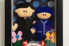 boneka couple profesi pegawai bri