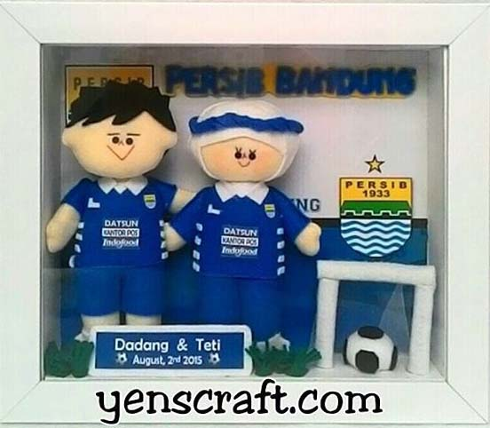 boneka couple jersey persib