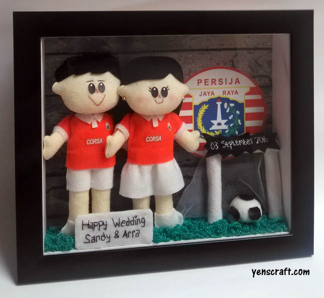 merchandise boneka couple persija