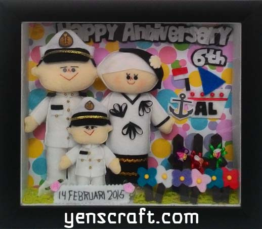 Hadiah spesial untuk anniversary pernikahan keluarga pelaut