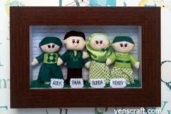 boneka keluarga kekey