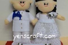 boneka couple pelaut pelayaran dengan pacar