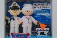 boneka couple pelaut perawat alex