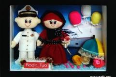 boneka couple pelaut radit