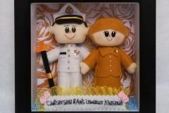 boneka pasangan pelaut dan guru
