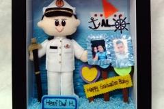 boneka pelaut henri souvenir wisuda