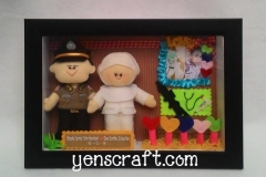 boneka couple polisi perawat