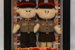boneka couple polisi polwan cantik