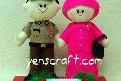 boneka-couple-profesi-polisi-bhayangkari-arif