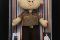 souvenir boneka polisi untuk acara kenaikan pangkat
