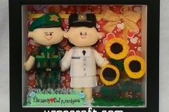 boneka couple profesi tni stpdn