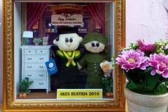 souvenir boneka wisuda couple pns