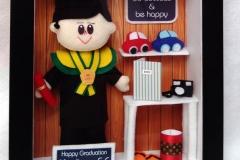 souvenir boneka wisuda untuk cowok
