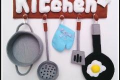hiasan dinding dapur