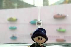 gantungan boneka TNI