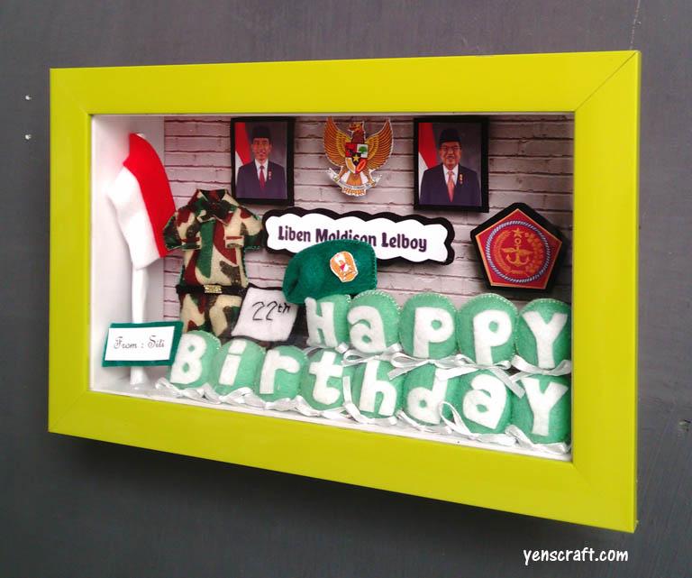 kado ulang tahun untuk TNI