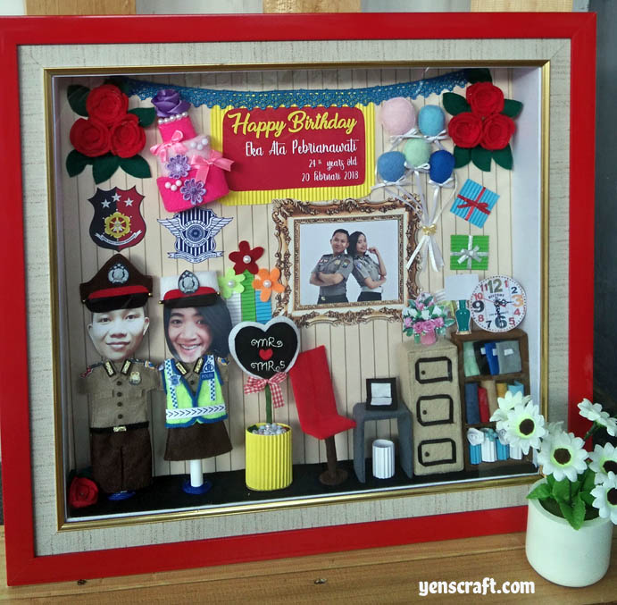 kado ulang tahun untuk istri polwan
