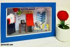 kado ulang tahun karyawan BRI