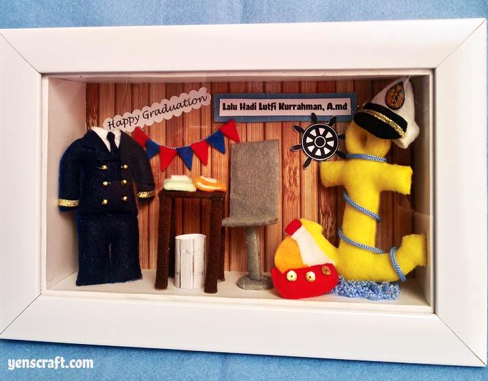 souvenir wisuda pelaut pelayaran lalu
