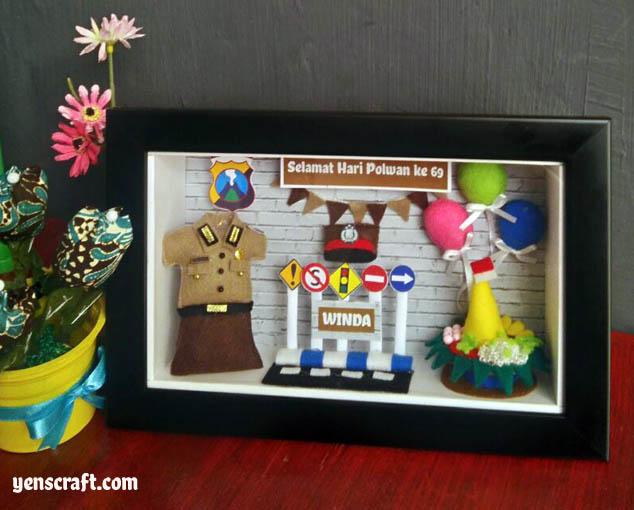 souvenir hadiah untuk polwan cantik