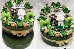 tempat cincin kawin mahar dan perhiasan untuk TNI