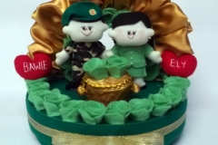 tempat cincin dan perhiasan untuk pernikahan TNI AD