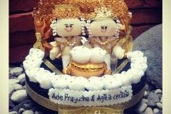 tempat cincin kawin dan perhiasan untuk pernikahan adat palembang
