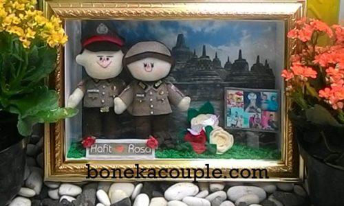 boneka-couple-profesi-polisi-polwan-jilbab