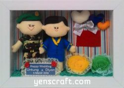 kado-wedding-boneka-tni-pegawai-bank